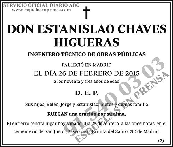 Estanislao Chaves Higueras